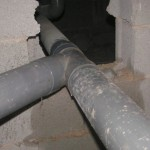 THe Unblock-A-Rod engineers replaced broken pipework
